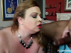 Plump Wife Lives out Her Fantasy of Fucking A Black guy
