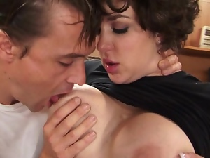 Parody big tit fucking with Kiera King