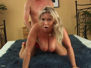 Busty Mature Amateur Sandy Fucked