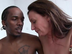 Do MILFs like black cock?
