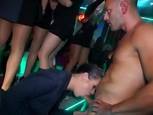 Sluts at party getting plowed