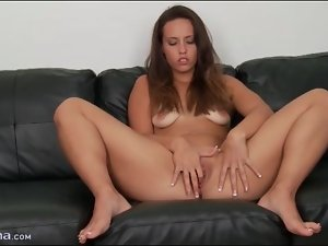 Kelsi Monroe models and pleasures her cunt