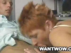 Maria - Mature European Craving For Young Dick