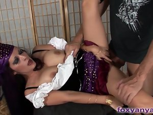 Naughty Gypsy Foresees Sucking And Fucking