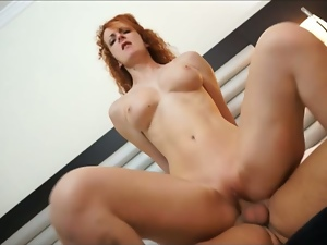 silvia, redhead slut, picked up from pharmacy!