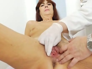 Granny got her pussy examined