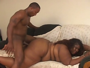 Black fatty tops monster cock