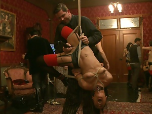 Bdsm torture ogry with filthy whores