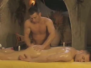 Exotic techniques of massage for gays.