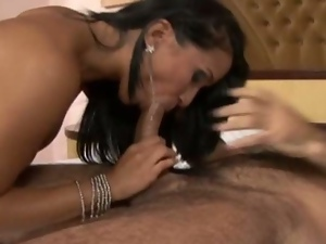 Brazilian babe alessandra marques gets assfucked