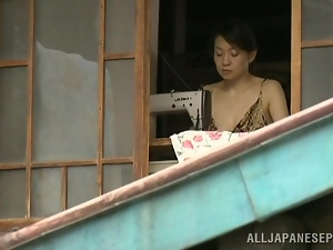Asian milf's nailed by a horny stud