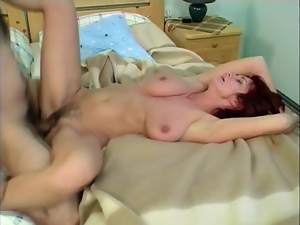 Big boobed mature lady Diana is loving a thick cock