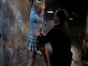 What happens to Ally Ann in this BDSM is a damn HELL