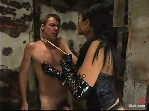 Sizzling and terrifying bitch Mika tan is on Wild Bill
