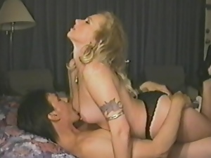 Cranking oldies with a stunning retro chick getting balled