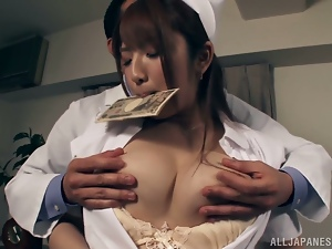 Nurse is captured for some dirty and perverted games