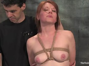 Ariana Carmine enjoys being tortured and fucked by Maestro