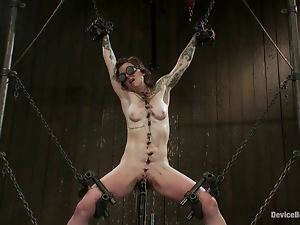Lust gets crossed with chains on four sides