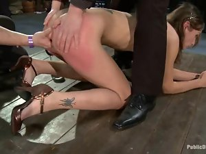 BDSM live show tonight with a slender milf Amber