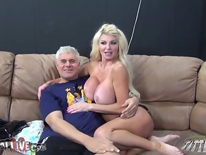 Taylor Wayne is a mysterious milf that wants a huge one