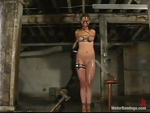 Poor Jessica Sexin gets bounded and humiliated by her mistress