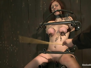 Tit sandwich for a slender siren Iona Grace