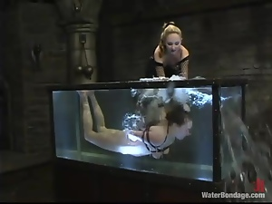 Poor girl gets toyed and tortured by her kinky mistress