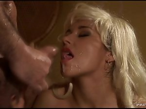 Sonia Carter gets ass fucked and facialed in close-up video