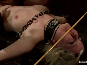 Cherry Torn gets choked and whipped by James Deen
