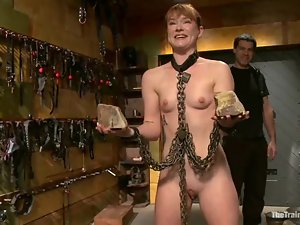 Claire Robbins gets tormented and fucked and enjoys it