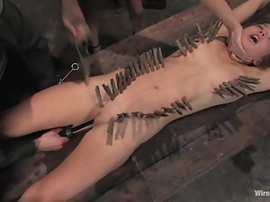 Nazi officer strapon fucks that lusty military sex slave