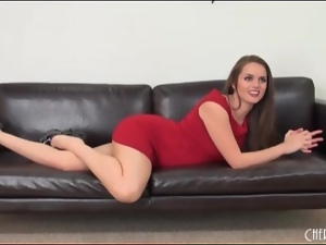 Tori Black looks damn good in a red dress
