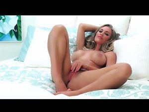 Skirt and panties striptease stars Nicole Aniston