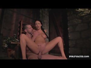 Beautiful Anissa Kate takes big cock in her box