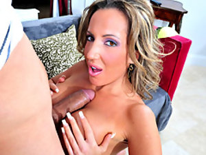 Stunning Milf Smothers Cock With Tits