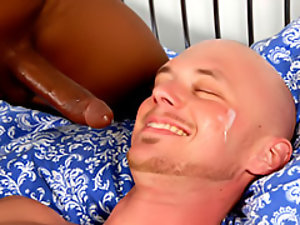 Gay interracial facial