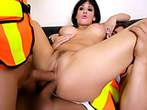 Double penetration slut