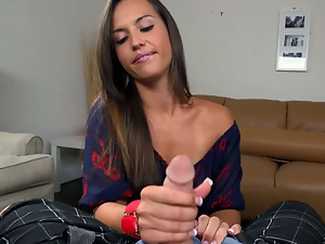 Kelsi Monroe Gets Her Tug On
