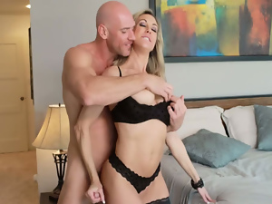 Brandi Love Johnny Sins in Seduced by a cougar. Part 2