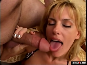 Dirty MILF Darryl Hanah gets a double portion