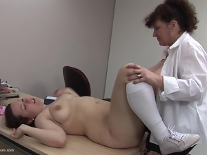 Fucked by a female doctor