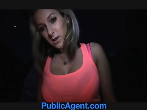 PublicAgent Jenkas hot body is bent over and fucked har
