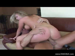 Harmony Rose rides her hot pussy on this hard dick