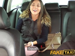 FakeTaxi Sexy Iva cant say no to free cash in my Taxi
