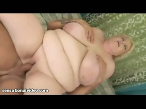 Old mature bbw june kelly loves young cock
