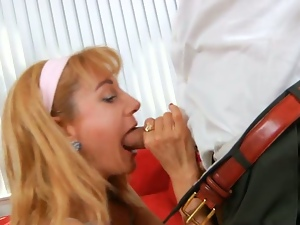 Petite Angella Faith Gets Seduced In The Kitchen