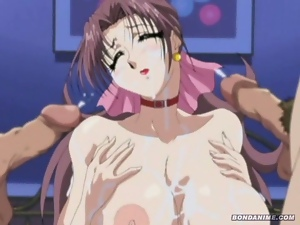 Huge boobs hentai anime whore hungry for cock