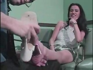 Foot fetish fuck