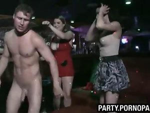 Stripper cums on girls