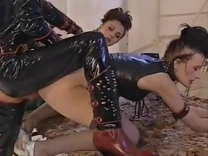 FFM  Latex anal and fist
